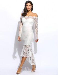 bff99d54a63b Caricamento dell immagine in corso vestito-abito-tubino-donna-pizzo-bianco- elegante-moda-
