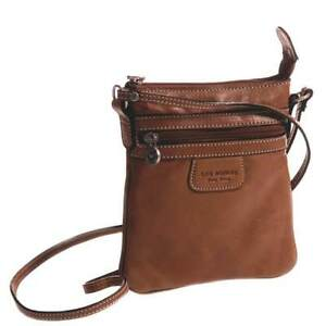 Cow-Leather-Cross-body-with-Front-Zip-Pocket-Cognac
