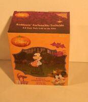 3.5' Disney Mickey Pumpkin Halloween Airblown Inflatable (new In Box)