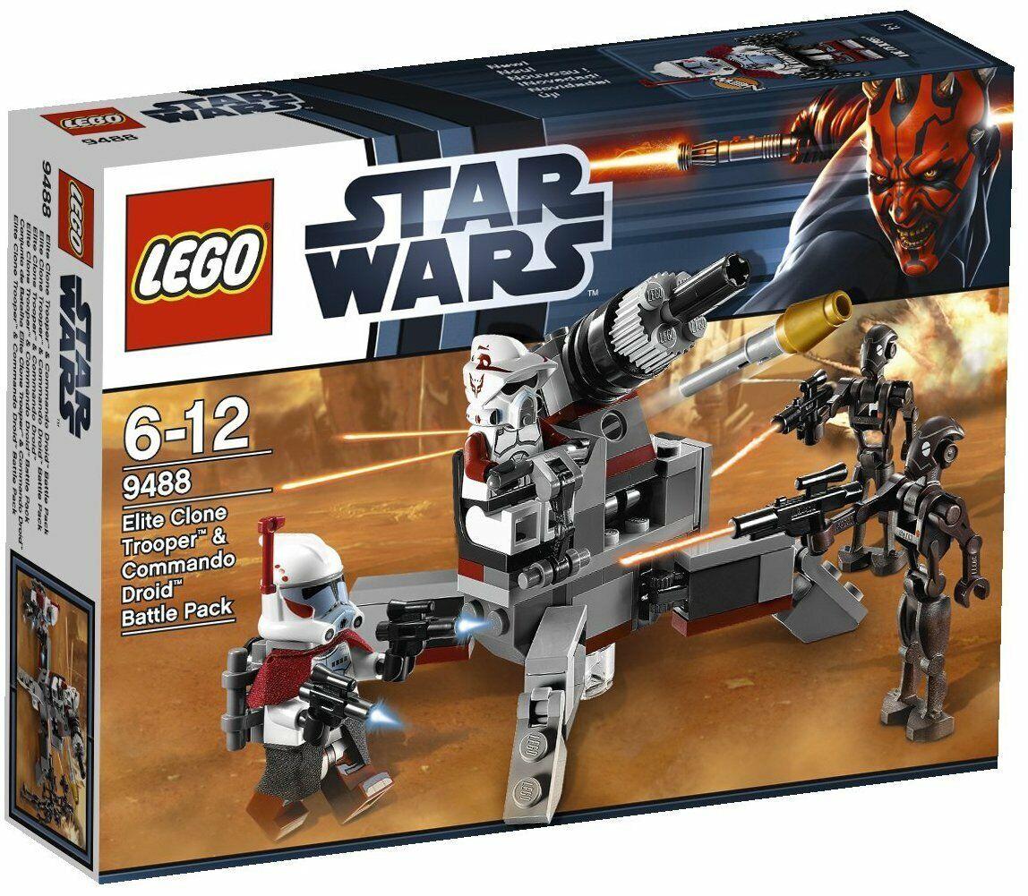LEGO Star Wars 9488 - Elite Clone Trooper & Commando Droid BP - NEUF, SCELLÉE