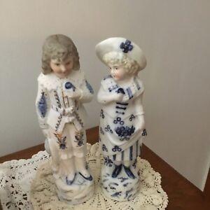 Antique-German-Bisque-Figurines-Huebach