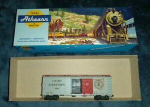 HO-Athearn-Ohio-Eastern-Boxcar-5705-Super-Rare-Car-Train