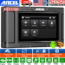 Heavy Duty Truck All System Scanner Diesel Hd Obd Diagnostic For Ford Mack Volvo
