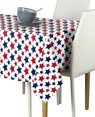 Freedom Stars Navy Signature Tablecloth Assorted Sizes!