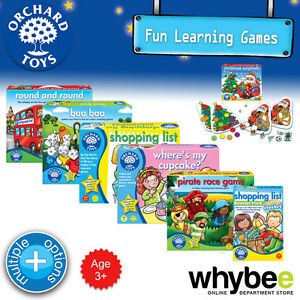 New-Orchard-Toys-3yrs-Fun-Learning-Games-Puzzles-Educational-Kids-Children