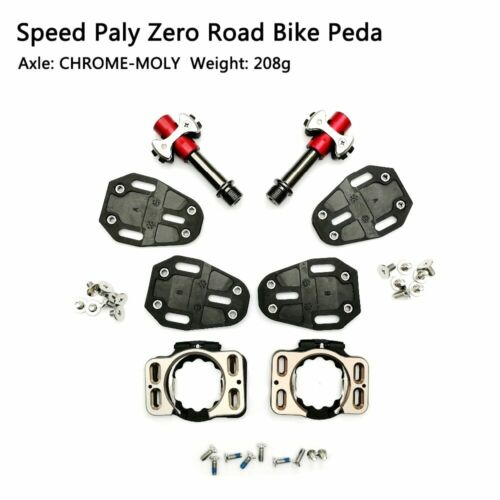 19 NEW Speed Play Zero Pave Road Bike Pedal CHROME-MOLY Bicycle Self-Locking