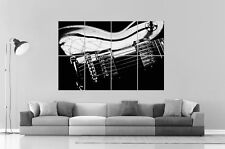 GUITARE LEGENDE Gibson Les Paul Wall Art Poster Grand format A0 Large Print