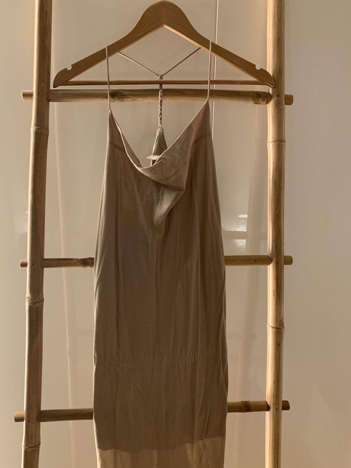 Designer Designer Designer Dress - Kimberly Ovitz - Beige - Size XS d5cd70