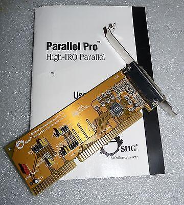 EPP//ECP Port SIIG Inc Single Parallel