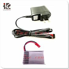 3.7V Li-po Battery & Charger for Egofly DFD F161 RC Helicopter Parts