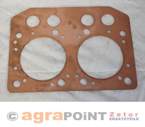 Zetor by agrapoint.de Zetor 25A//K Z25103.02Cu Zylinderkopfdichtung CU
