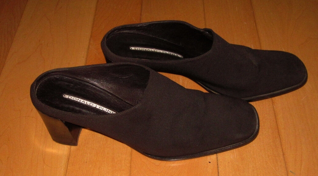 Donald J Pliner femme marron stretch MULES TALONS 8.5 M