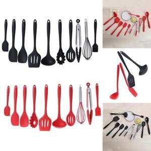 10-Piece-Cooking-Utensil-Set-Stainless-Steel-Kitchen-Gadget-Tool-Nylon-Handles