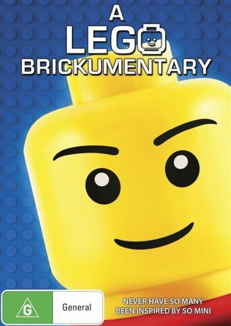 A Lego Brickumentary (DVD, 2016) R4 New, ExRetail Stock (D157) (D181)