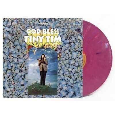 Tiny Tim - God Bless Tiny Tim LP 50th Anniversary Pink Colored Vinyl Limited