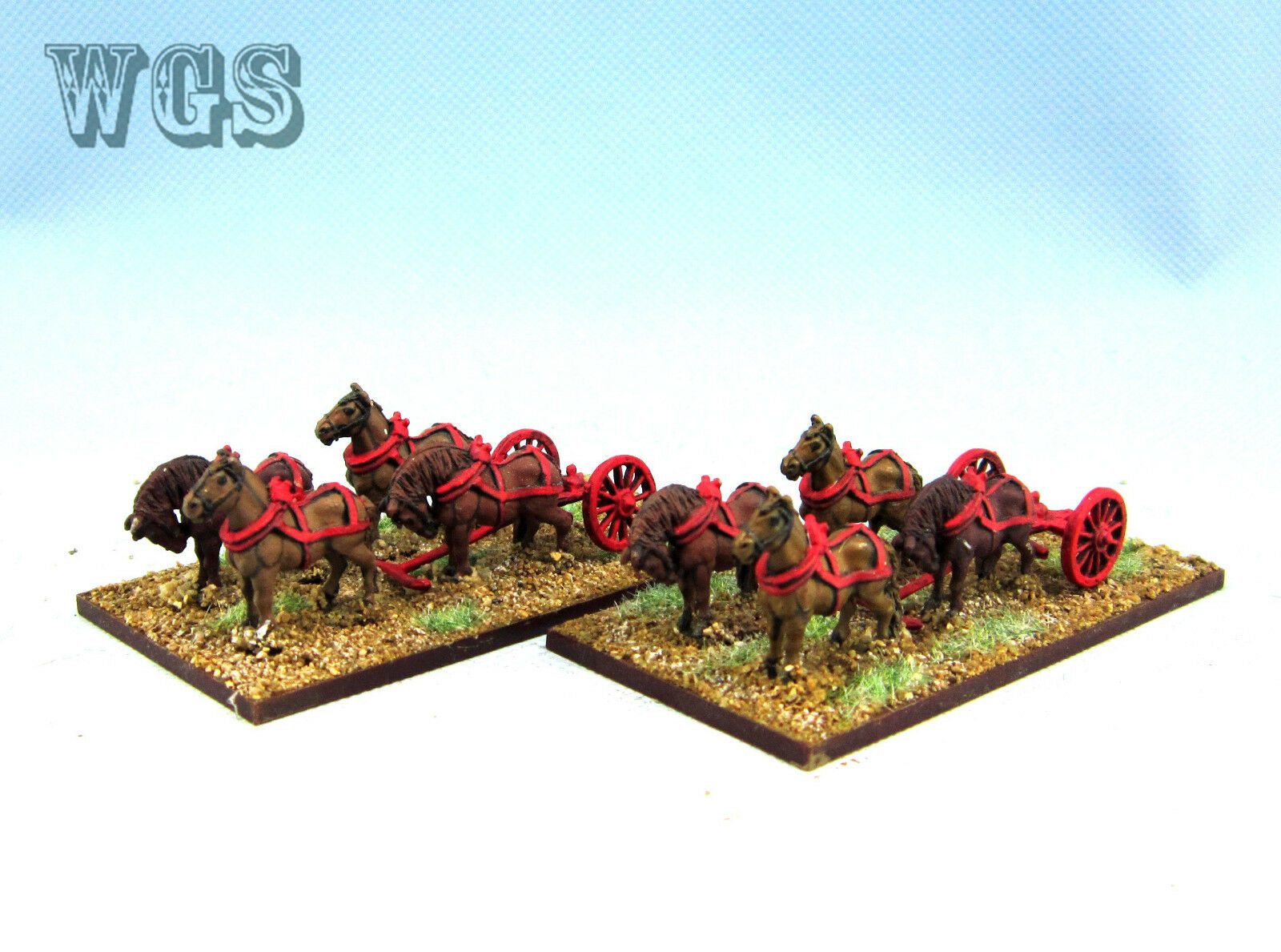 15mm SYW Seven Years War painted WGS French horse limber FC4