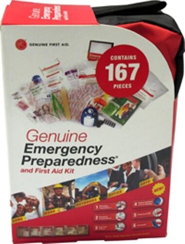 Emergency Preparedness Supply Emergency First Aid Kit 167pc SHTF PREPS BUG OUT