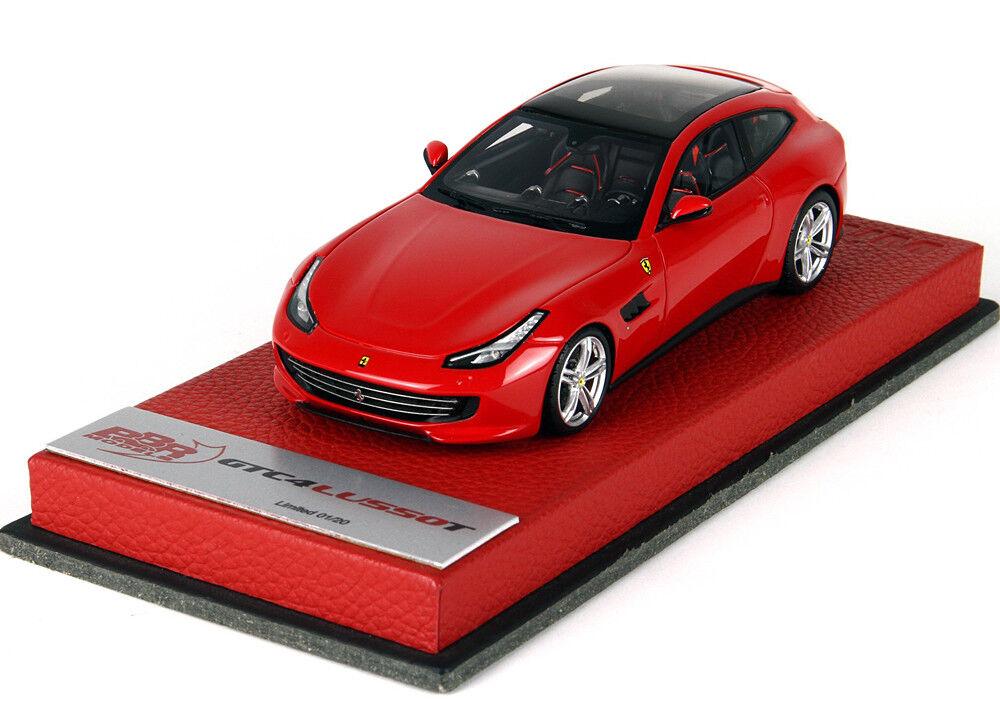 mejor vendido BBR 1 43 Ferrari GTC4 Lusso T rojo rojo rojo Corsa Cuero Base 20 un. Bbrc 191 bpre  disfrutando de sus compras