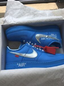 IN HAND Off White x Nike Air Force 1 Low MCA Size 12 Virgil Abloh NEW