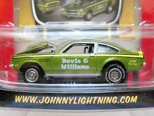 JOHNNY LIGHTNING - CLASSIC GOLD COLLECTION - 1971 CHEVY VEGA PRO STOCK - DIECAST