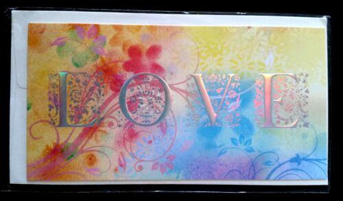 "enveloppes Carte /""LOVE/"" E48 Neuf"