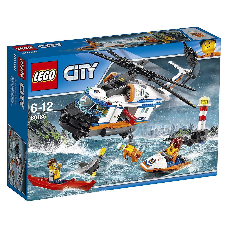Ref.60166 HÉLICOPTÈRE DE SECOURS - Lego City City City 21fde5