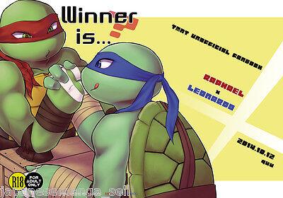 B5 24pages Teenage Mutant Ninja Turtles doujinshi Leo X Dony CHEW ME Andromeda