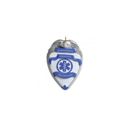 EMT Personalized Christmas Tree Ornament