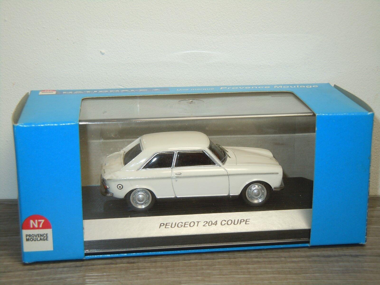 mejor oferta Peugeot 204 Coupe - Provence Moulage 1 43 in in in Box 32771  cómodamente