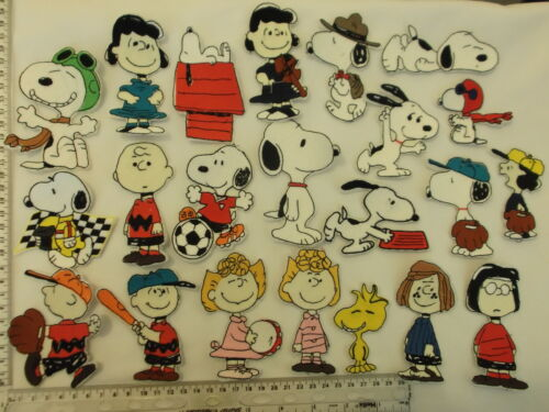 1 NEW SEW// IRON-ON EMBROIDERED SNOOPY GARFIELD FELIX POPEYE MOTIF PATCH APPLIQUE