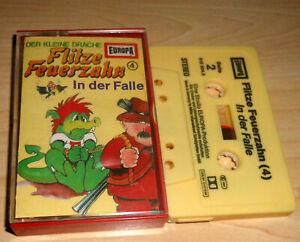 Hoerspiel-Kassette-Flitze-Feuerzahn-Folge-4-In-der-Falle