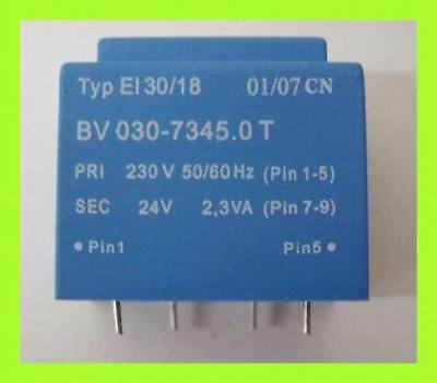 Print Trafo Transformator 230V 50//60Hz 15V 2,3VA BV030-7343.0 T 1x