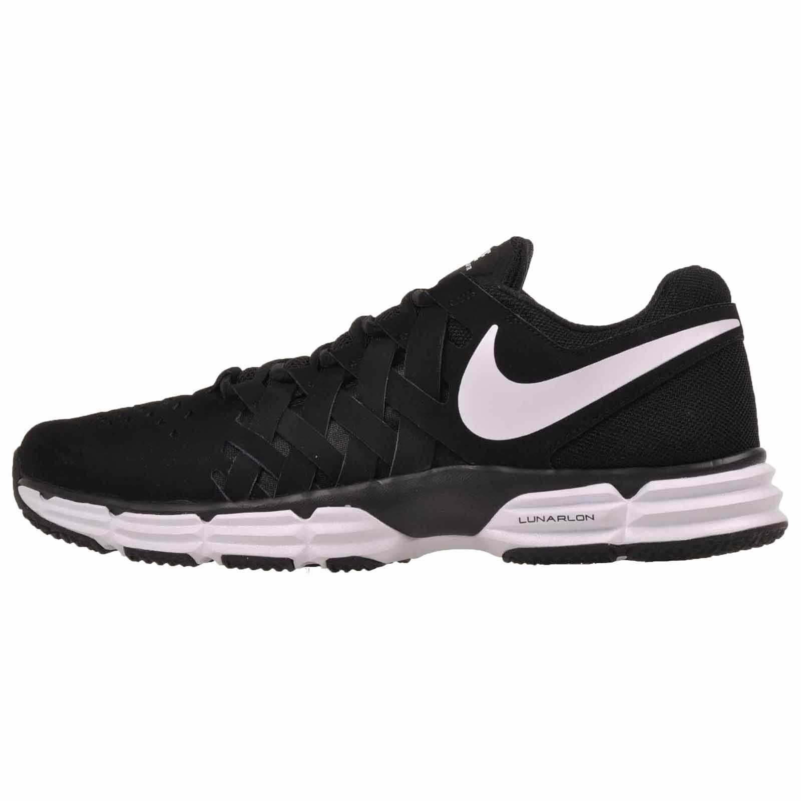 Nike Lunar Fingertrap TR Cross Training Mens shoes Black White NWOB 898066-001