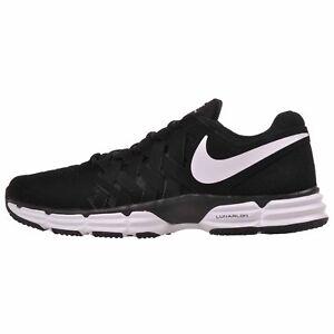 64b4e912c1 Nike Lunar Fingertrap TR Cross Training Mens Shoes Black White NWOB ...
