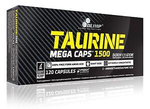 Olimp-Taurine-120-Mega-Caps-1500mg-Strenght-amp-Energy-amp-Amino-Acid