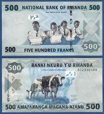 Ruanda/kinyarwanda 500 francos 2013 UNC p. 38