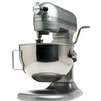 KitchenAid Pro Stand Mixer 450-W 5-QT RRKv25gOXcu All Heavy Metal Countor Silver