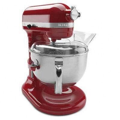 kitchenAid 600 Super Big 6-Qt Pro Stand Mixer Kp26m1pgc Gloss Dark Red Cinnamon