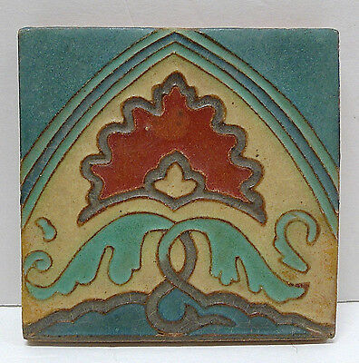 Solon & Schemmel Vintage Stylized Floral Tile