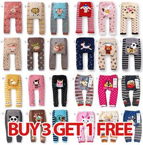 Baby-Toddler-Boys-Girls-Unisex-Trousers-Leggings-Pants-Tights-buy-3-get-1-free