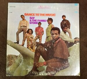 Vintage-1968-Sly-amp-the-Family-Stone-034-Dance-to-the-Music-034-LP-EPIC-Records-EX