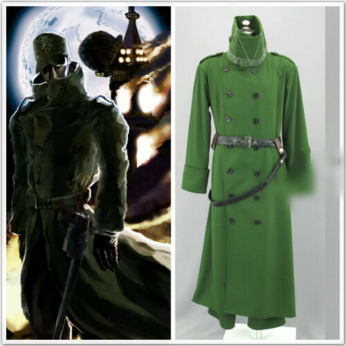 Hellsing capitaine Cosplay vêtements Custom Made