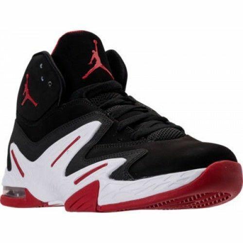 Jordan Alpha 3/% Black Varsity Red Size 10.5 or 12