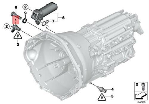 Genuine BMW Crankshaft Position Sensor 13-62-7-525-015