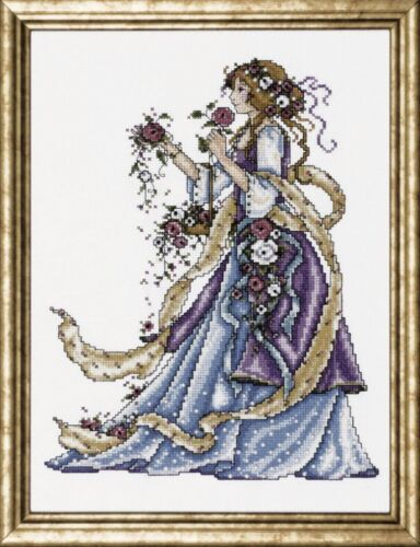 DW-2493 Design Works Counted Cross Stitch Kit Rose Lady