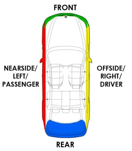 Dodge Avenger N//S//F altavoz de la puerta delantera del lado del pasajero