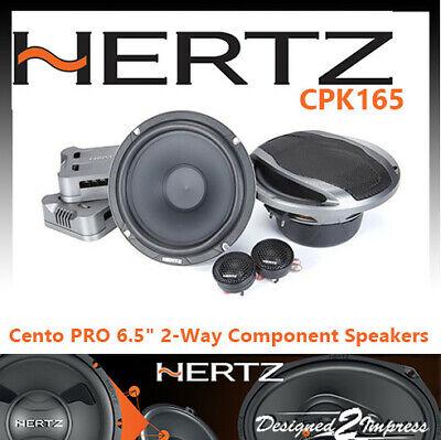 Hertz Cento Pro CPK 165 2-Wege Komponetensystem 105 Watt RMS 4 Ohm