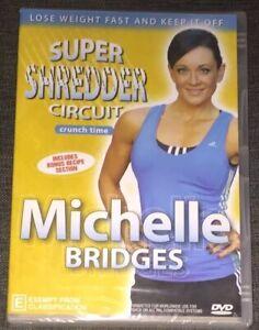 NEW-MICHELLE-BRIDGES-SUPER-SHREDDER-CIRCUIT-DVDR0