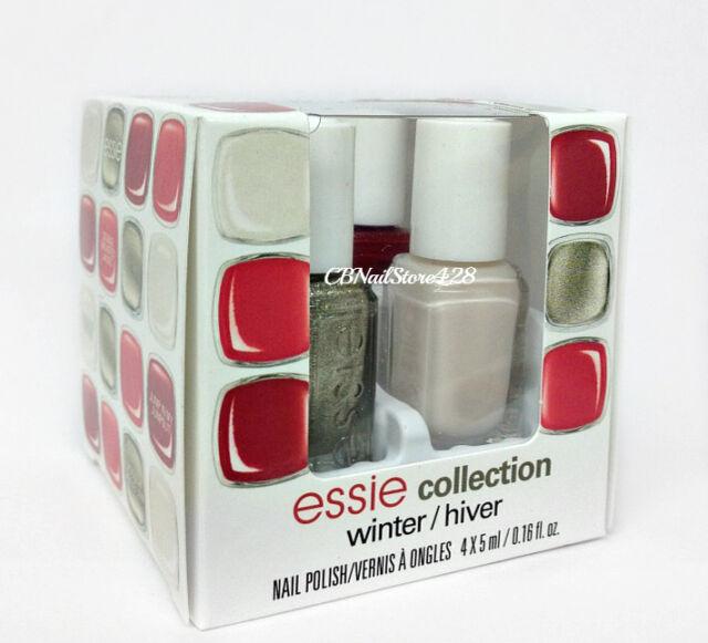 essie Nail Polish Winter 2014 Collection - 4 Mini Bottles