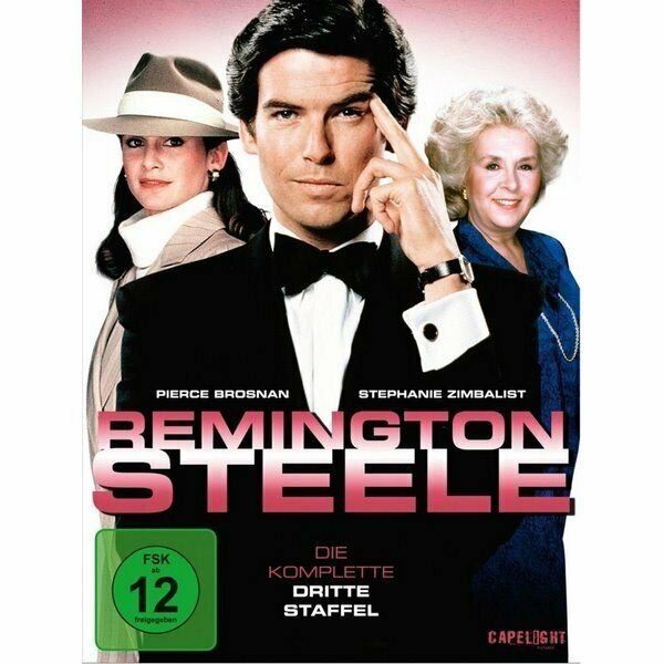 DVD Neuf - Remington Steele Die Komplet